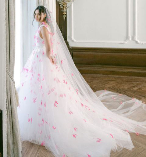 21-pink-wedding-dresses-2021-collections-14