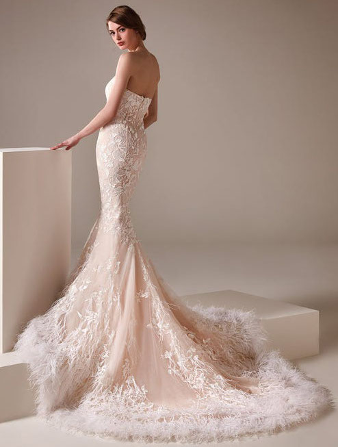 21-pink-wedding-dresses-2021-collections-16